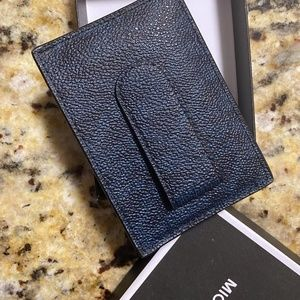 Card Case with Money Clip